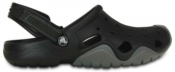 Crocs Herren Swiftwater Clog (black-charcoal)