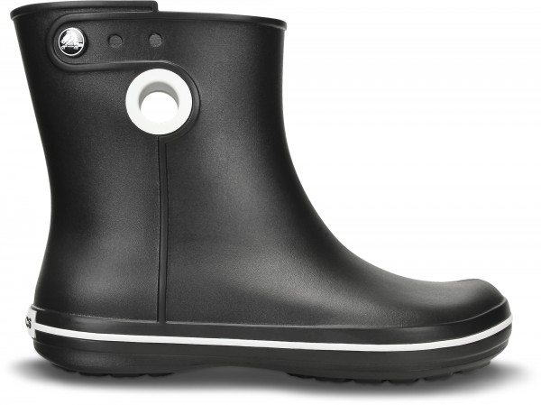 Crocs Women Jaunt Shorty Boot Damen Gummistiefel (Black)