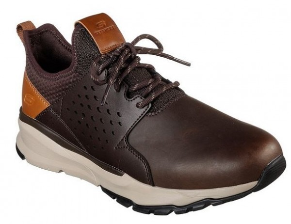 Skechers Relven - Hemson Herren Sneaker (Braun-CHOC)