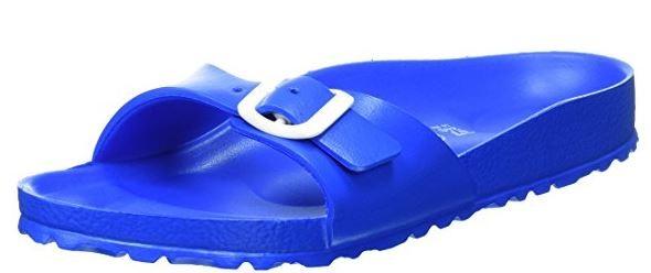 Birkenstock Madrid EVA schmal Damenpantolette1003513 (Scuba Blue)