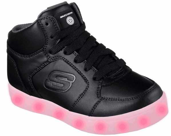 Skechers S Lights: Energy Lights Kinder Sneaker 90600L (Schwarz - BLK)