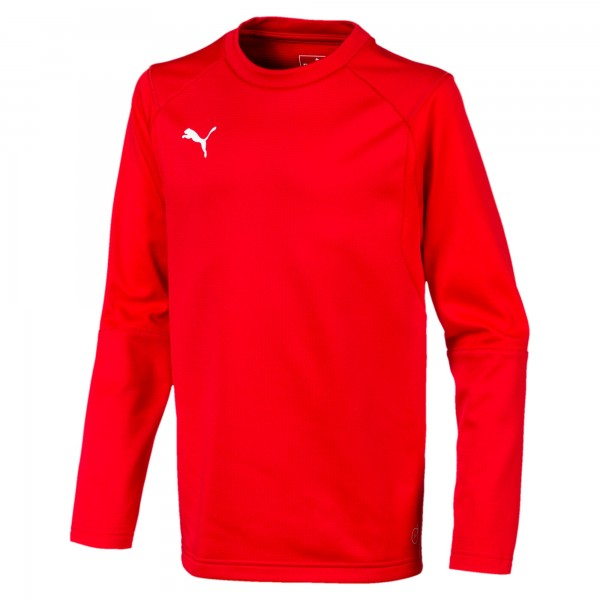 Puma LIGA Training Sweat Jr Kinder Shirt 655670 (Rot 01)