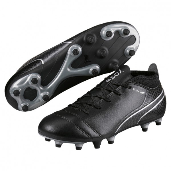 Puma ONE 17.4 FG JR (black-silver 03)