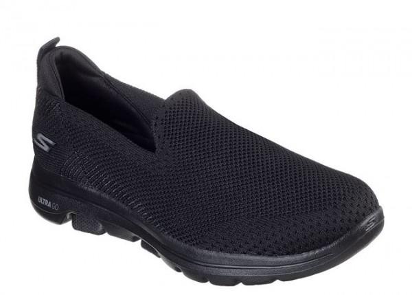 Skechers GOwalk 5 - Prized Damen Sneaker 15900 (Schwarz-BBK)