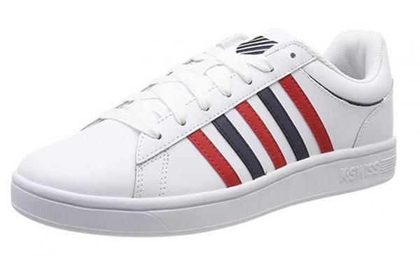 K-Swiss Court Winston Herren Sneaker (Weiß 162)