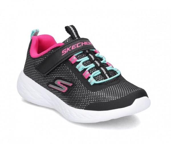 Skechers GoRun 600 - Sparkle Runner Kinder Sneaker 82008L (Schwarz-BKMT)