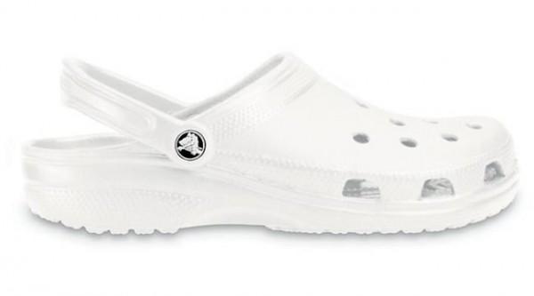 Crocs Classic Clogs (White)