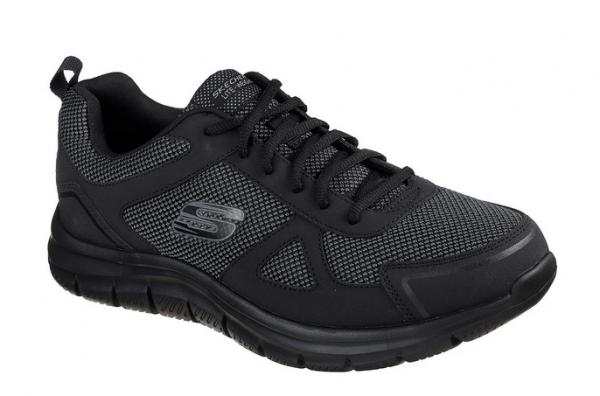 Skechers Track - Bucolo Herren Sneaker 52630 (Schwarz-BBK)