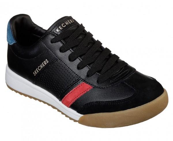 Skechers Zinger Retro Rockers Damen Sneaker 961 (Schwarz-BKRD)