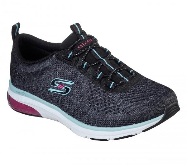 Skechers Relaxed Fit: Skech-Air Edge - Brite Times Damen Sneaker 104057 (Schwarz-BKAQ)