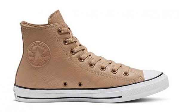 Converse Chucks Taylor All Star HI Leder Sneaker 165190C (Braun)