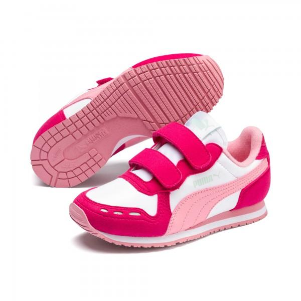 Puma Cabana Racer SL V PS Kinder Sneaker 360732 (Rosa 81)