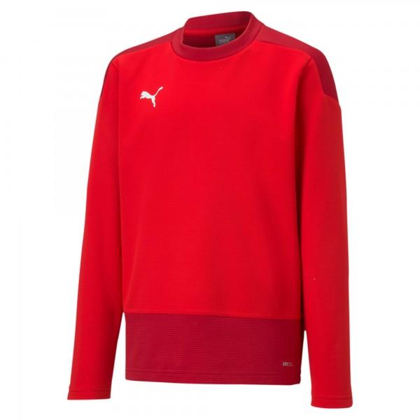 Puma TeamGOAL 23 Training Jr Kinder Sweatshirt 656568 (Rot 01)