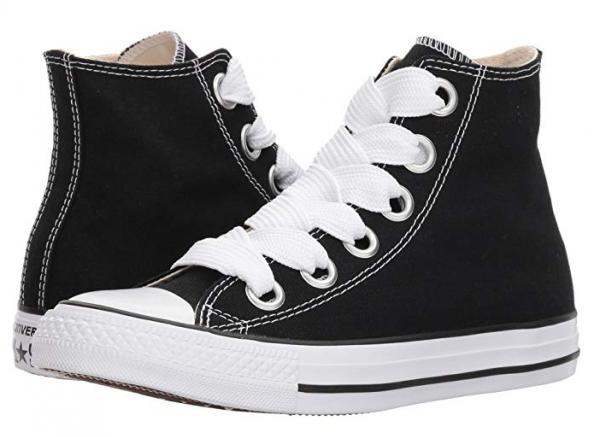 Converse CTAS Big Eyelets HI Damen Sneaker 559934C (Black)