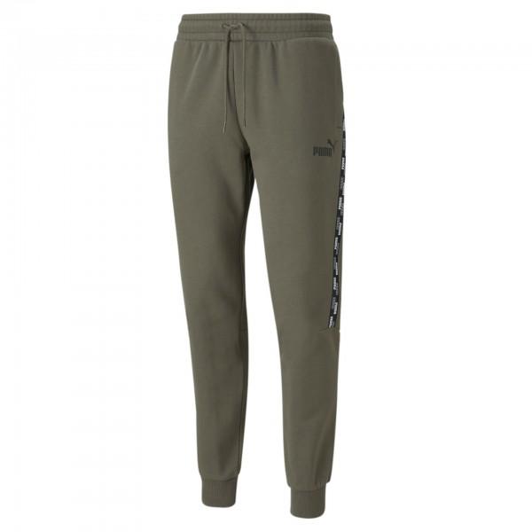 Puma Power Tape Sweat Pants FL CL / Herren Jogginghose 589397 (Grün 44)
