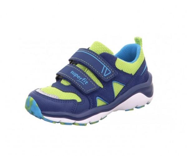 Superfit Sport5 Kinder Sneaker 6-09242 (Blau/Grün 82)