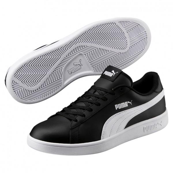 Puma Smash v2 L Herren Sneaker 365215 (black-white 04)