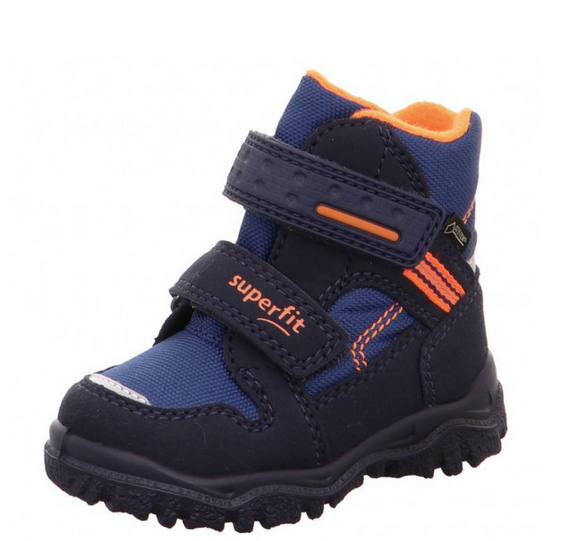Superfit Husky1 Kinder Winterstiefel 5-09044 (Blau 82)