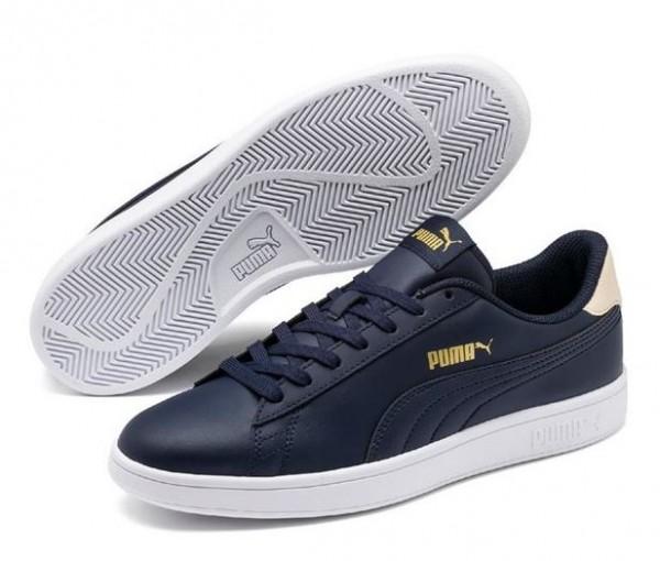 Puma Smash v2 L Herren Sneaker 365215 (Blau-21)