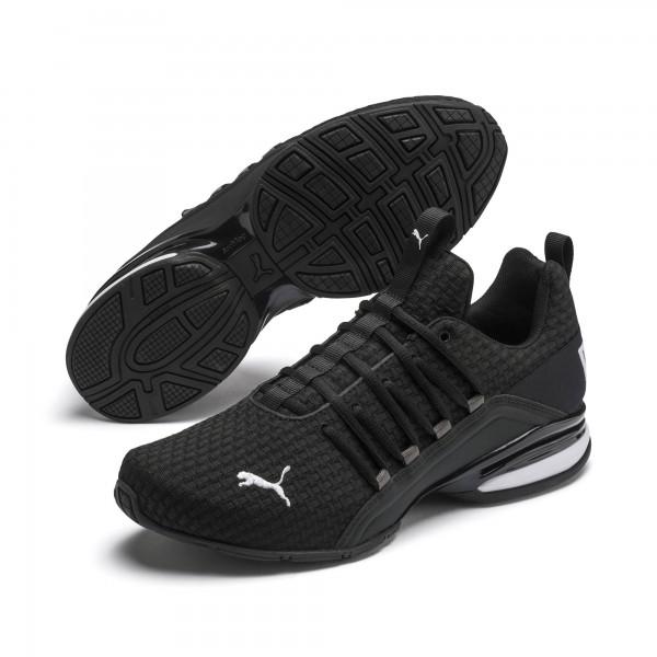 Puma Axelion Block Herren Sneaker 193148 (Schwarz 01)