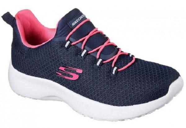 Skechers Dynamight Damen Sneaker 12119 (Blau-NVHP)