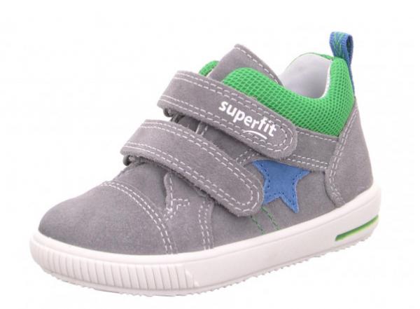 Superfit Moppy Kinder Sneaker 6-09352 (Grau 25)