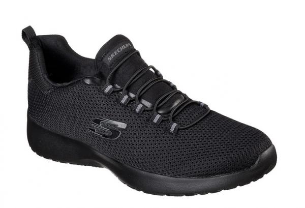 Skechers Dynamight Herren Sneaker (Schwarz-BBK)