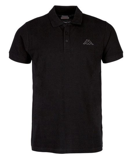 Kappa Peleot Herren Poloshirt 303173 (Schwarz 005)
