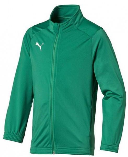 Puma Fussball Kinder Liga Sideline Core Jacke 655947 Grun 05
