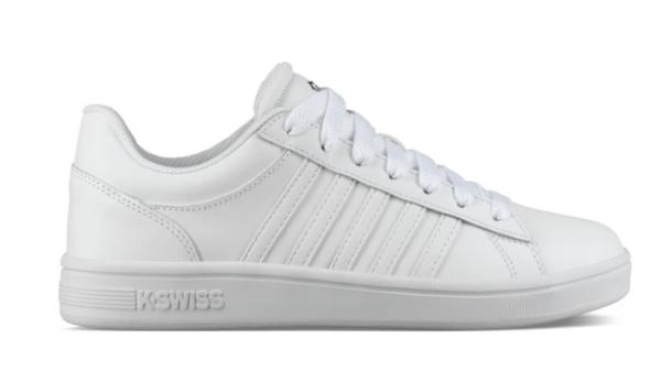 K-Swiss Court Winston Damen Sneaker 96154 (Weiß 175)