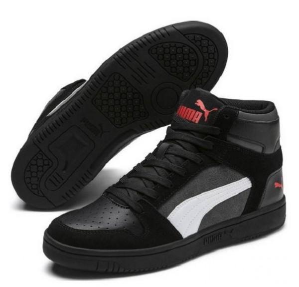 Puma Rebound Layup SD Herren Sneaker 370219(Schwarz 02)