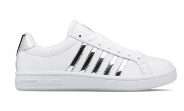 K-Swiss Court Tiebreak Damen Sneaker 97011 (Weiß 110)