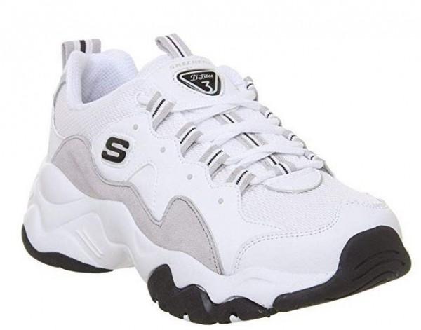 Skechers D'Lites 3 - Zenway Damen Sneaker (Weiß-WLGY)
