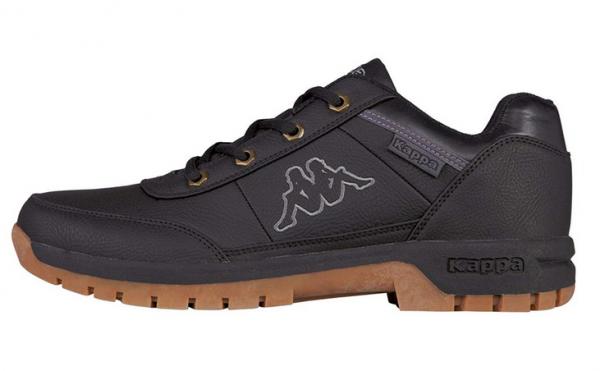 Kappa Bright Low Light Herren Sneaker 242226 (Schwarz 1111)
