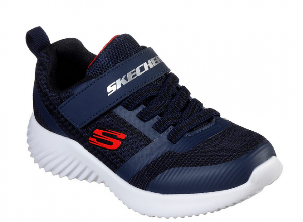 Skechers Bounder - Zallow Kinder Sneaker 98302L (Blau-NVBK)