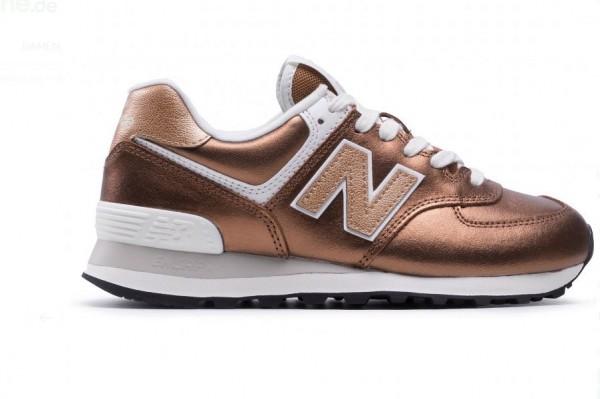 New Balance Damen Sneaker WL574PT2 (Braun)