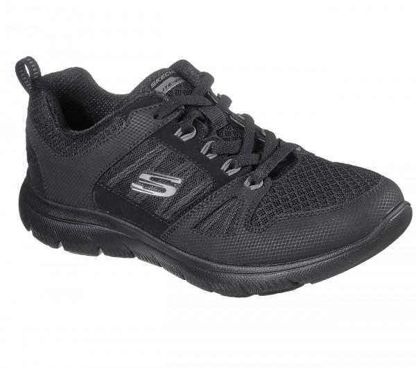 Skechers Summits - New World Damen Sneaker 12997 (Schwarz-BBK)