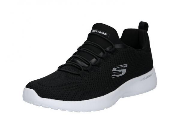 Skechers Dynamight Herren Sneaker 58360 (Schwarz-BKW)