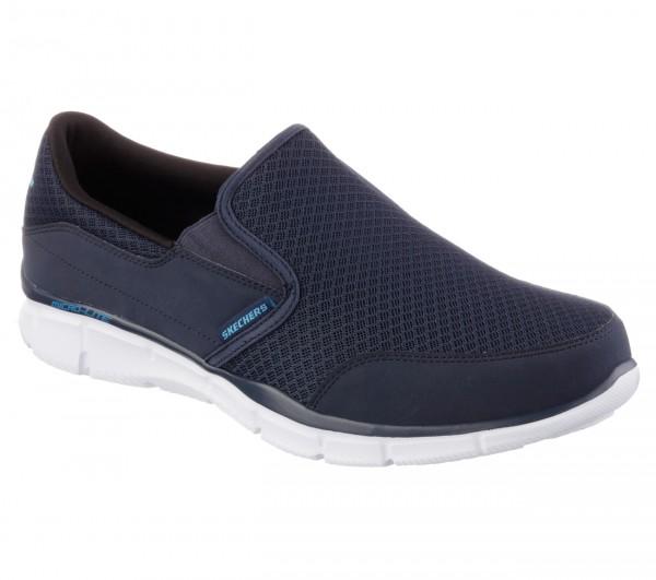 Skechers Equalizer Persistent Herren Sneaker 51361 (Blau-NVGY)