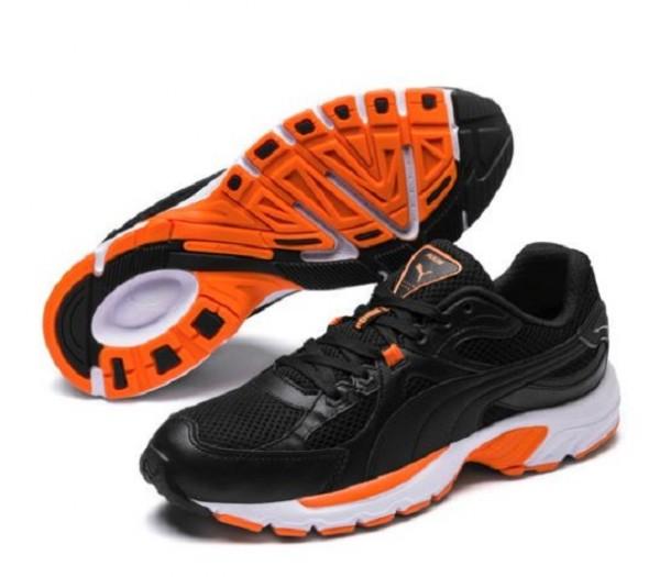 Puma Axis Plus 90s Herren Sneaker 370287 (Schwarz 01)