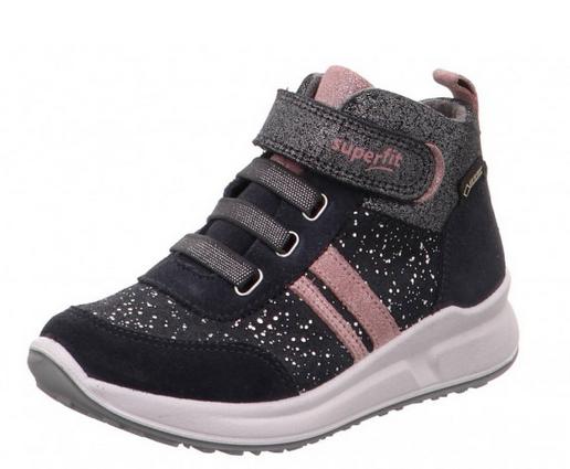 low priced 7fd87 1d6f9 Superfit Merida Mädchen Sneaker (Grau 20)