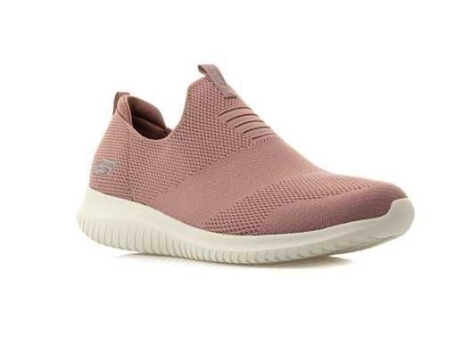 Skechers Ultra Flex First Take Damen Sneaker 12837 (Rosa-MVE)