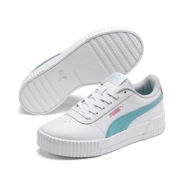Puma Carina L Jr Kinder Sneaker 370677 (Weiß 06)