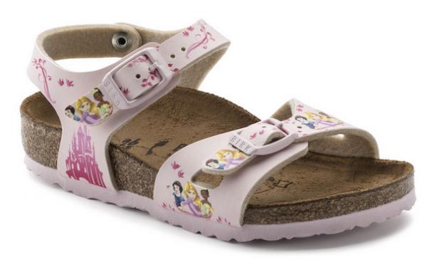 Birkenstock Rio Birko-Flor Kinder Sandale schmal 1008670 (Rosa)