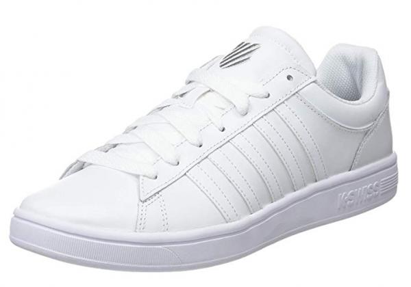 K-Swiss Court Winston Herren Sneaker (Weiß 154)