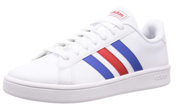 Adidas Grand Court Base Herren Sneaker EE7901 (Weiß)