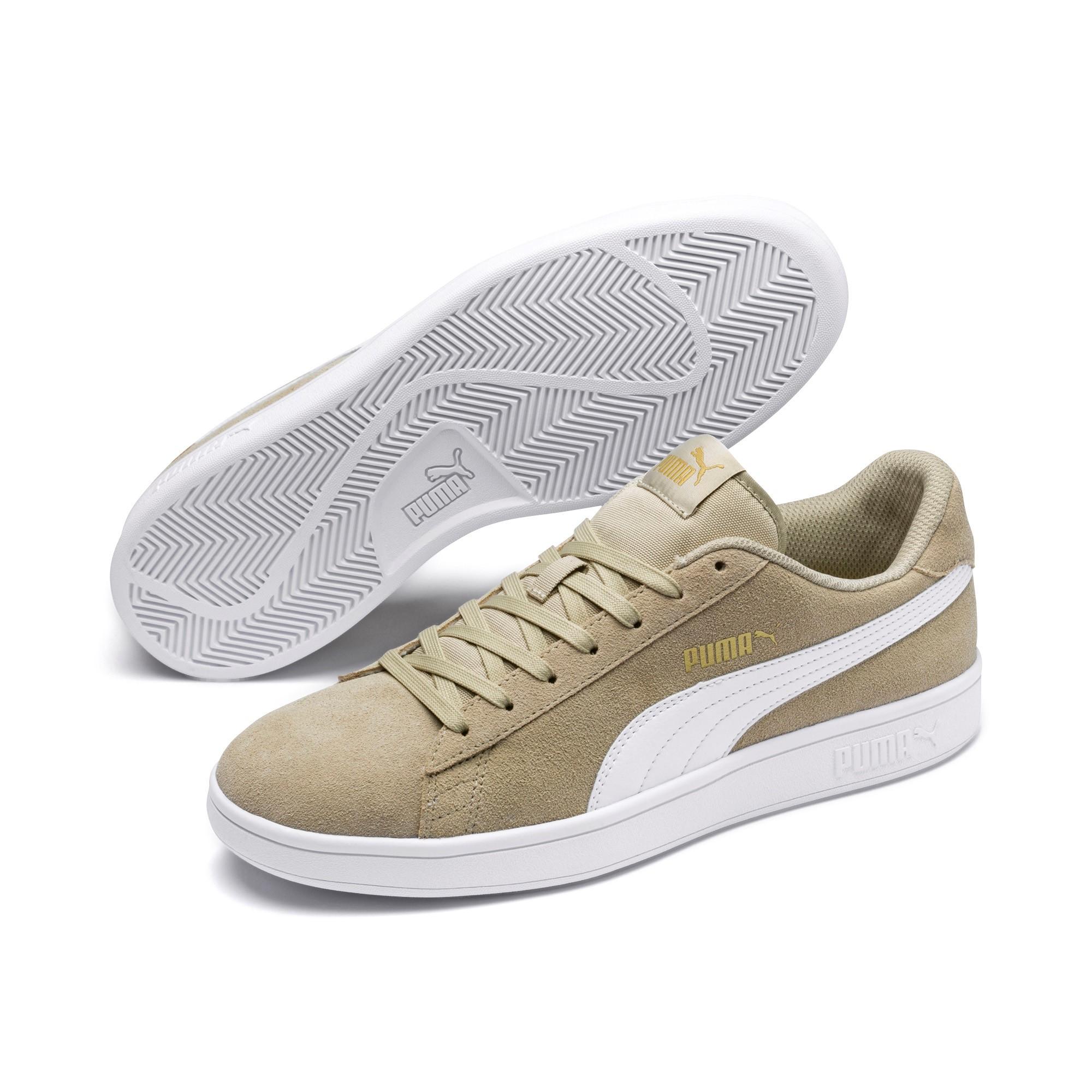 Puma Smash v2 Herren Sneaker 364989 (Elm White Gold 25)
