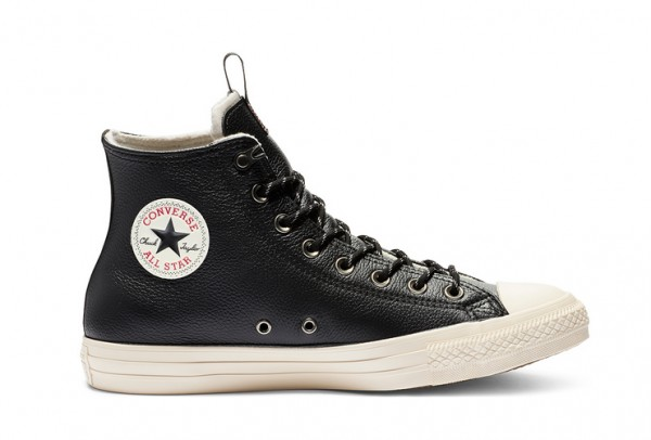 Converse Chucks Taylor All Star Storm Leather Hi 162386C (Black)
