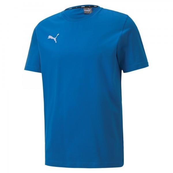 Puma TeamGOAL 23 Casuals Tee Herren T-Shirt 656578 (Blau 02)