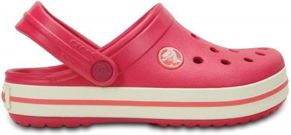Crocs Crocband Kinder (Raspberry/White)